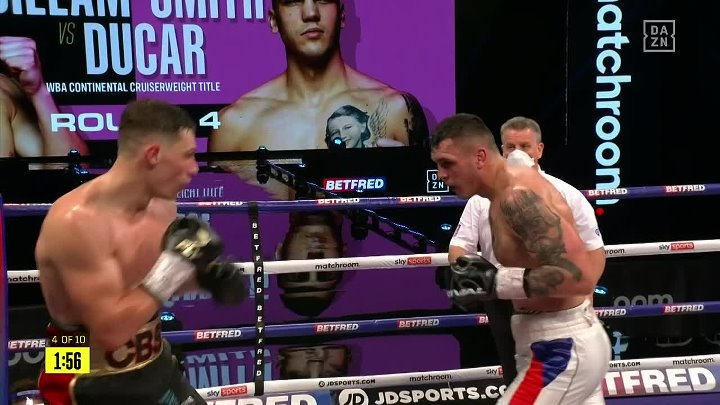 Chris Billam-Smith vs Vasil Ducar