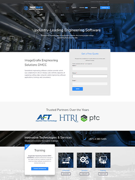 Maxeemize Online Marketing - IGES Website Design