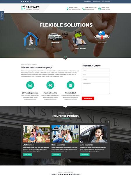 Maxeemize Online Marketing-Insurance Website Design