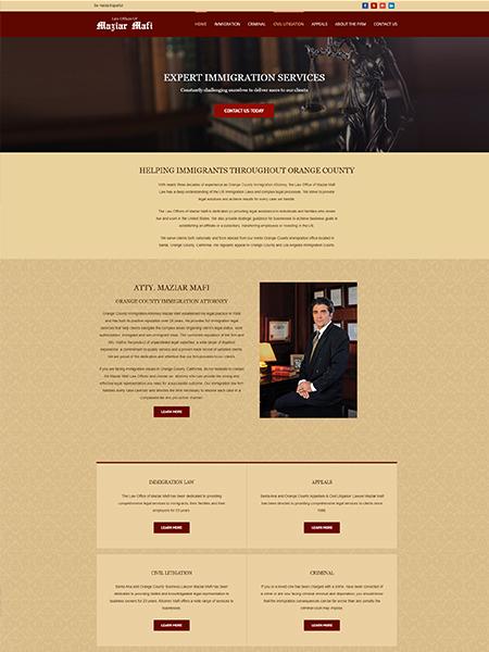 Maxeemize Online Marketing - Mafilaw Website Design