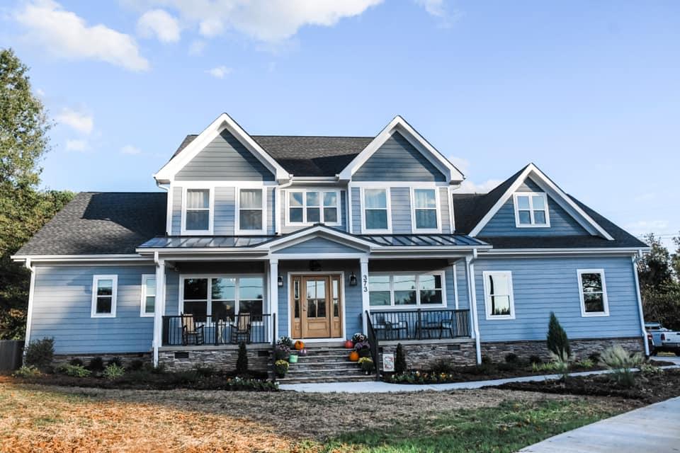 Custom home built by Harding Custom Homes
