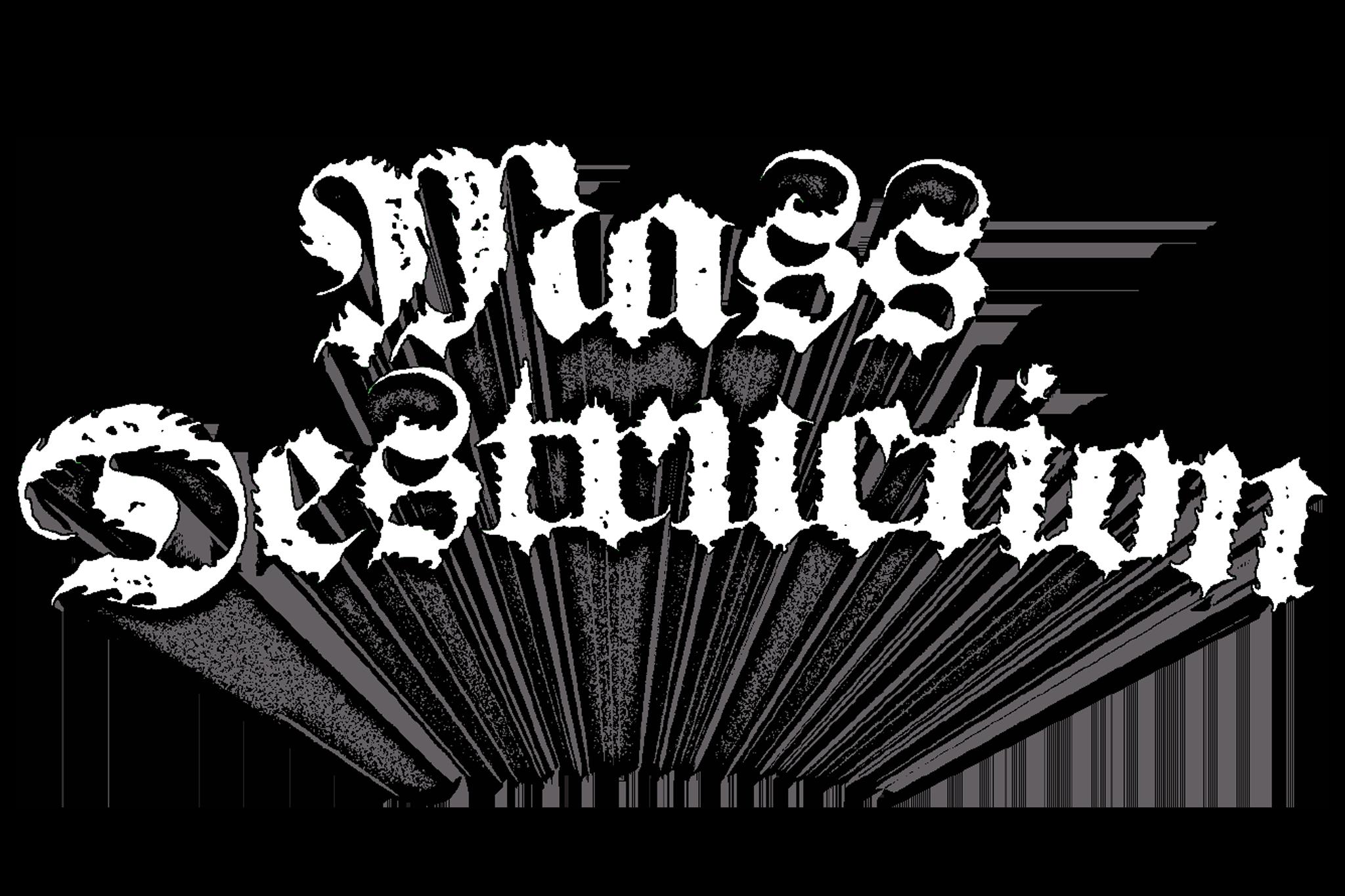 Mass Destruction Metal Festival Logo No Background