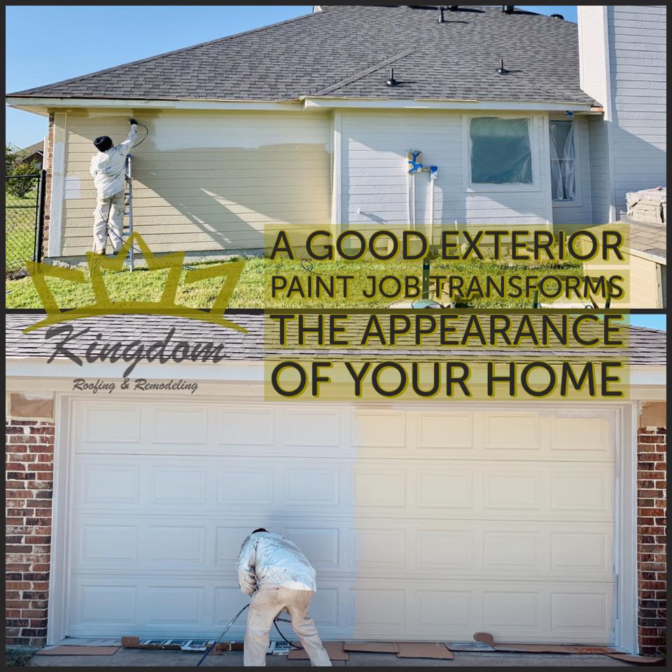 Exterior painting Wylie TX
