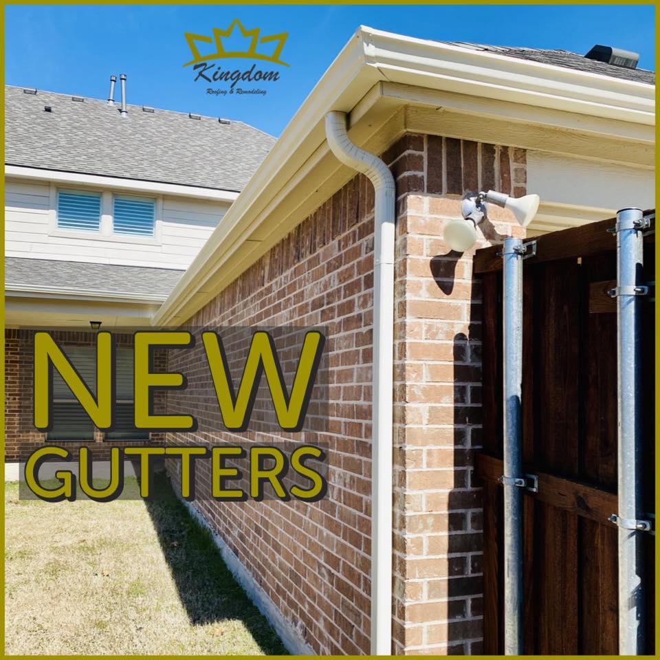 new gutters wylie tx