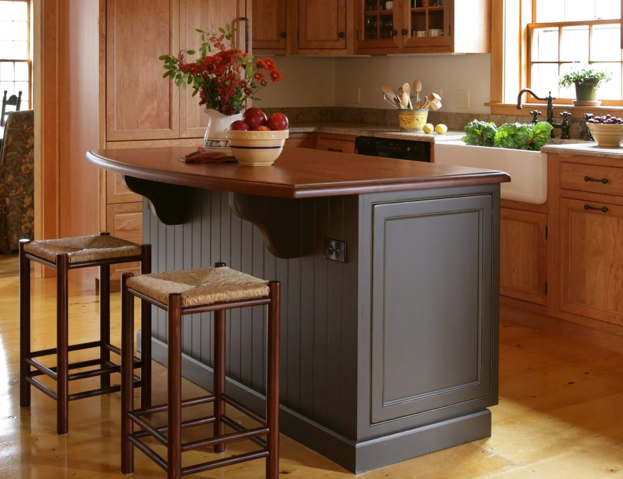 Beautiful wood kitchen finished