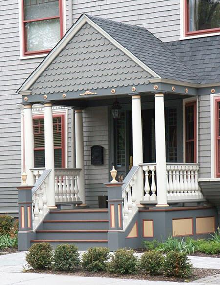 historic home in newton, ma