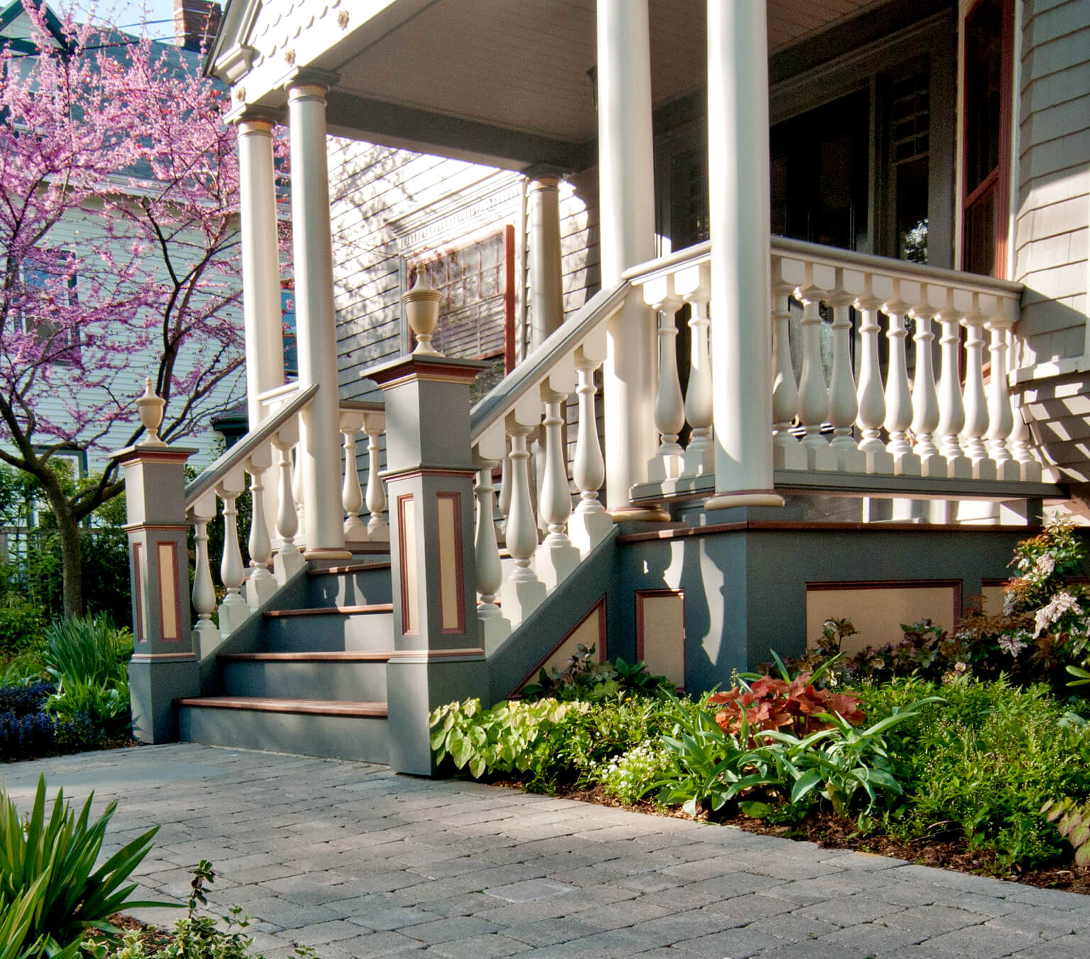 Historic Home Entry Porch Restored