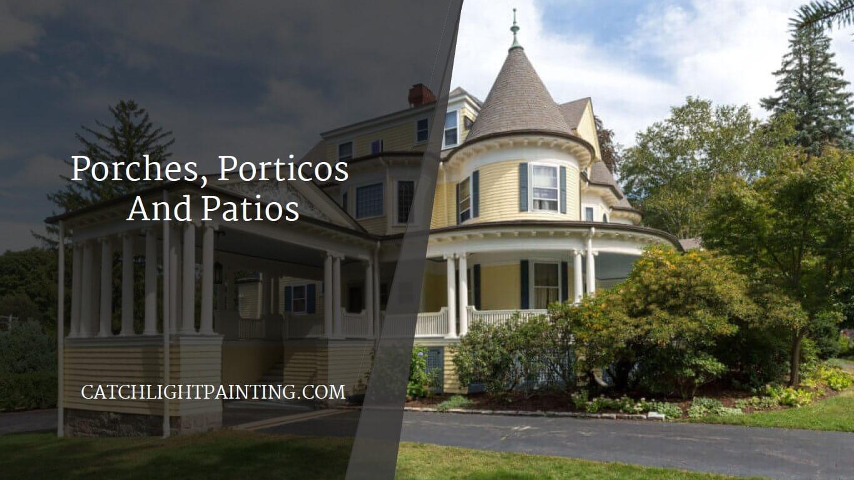 Portico Vs Porch Vs Patio