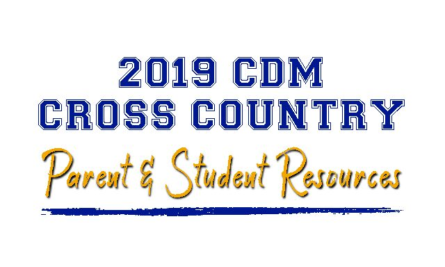 2019 CROSS COUNTRY PARENT RESOURCES