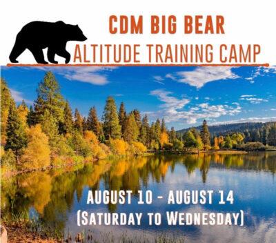 BIG BEAR ALTITUDE TRAINING CAMP