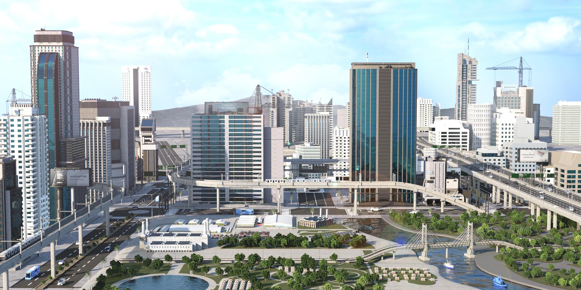 Cityscape_3D