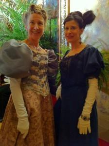 Lynn Julian, Boston Actress, at Ballroom Gala in Gilded Lilys ABC TV show pilot.