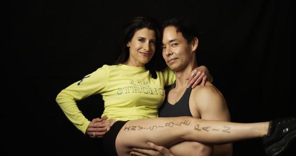 Lynn Julian, Boston Actress, and injured Boston Marathon attack survivor, volunteers on the Advisory Panel of the Massachusetts Resiliency Center.