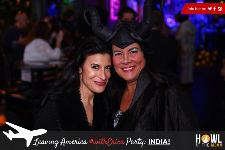 Lynn Julian, Boston Actress, with Carlyn Fornier at Hollywood East Actors Party