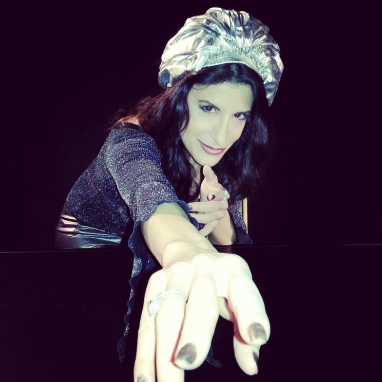 Lynn Julian, Boston Actress, as a Gypsy Fortune Teller