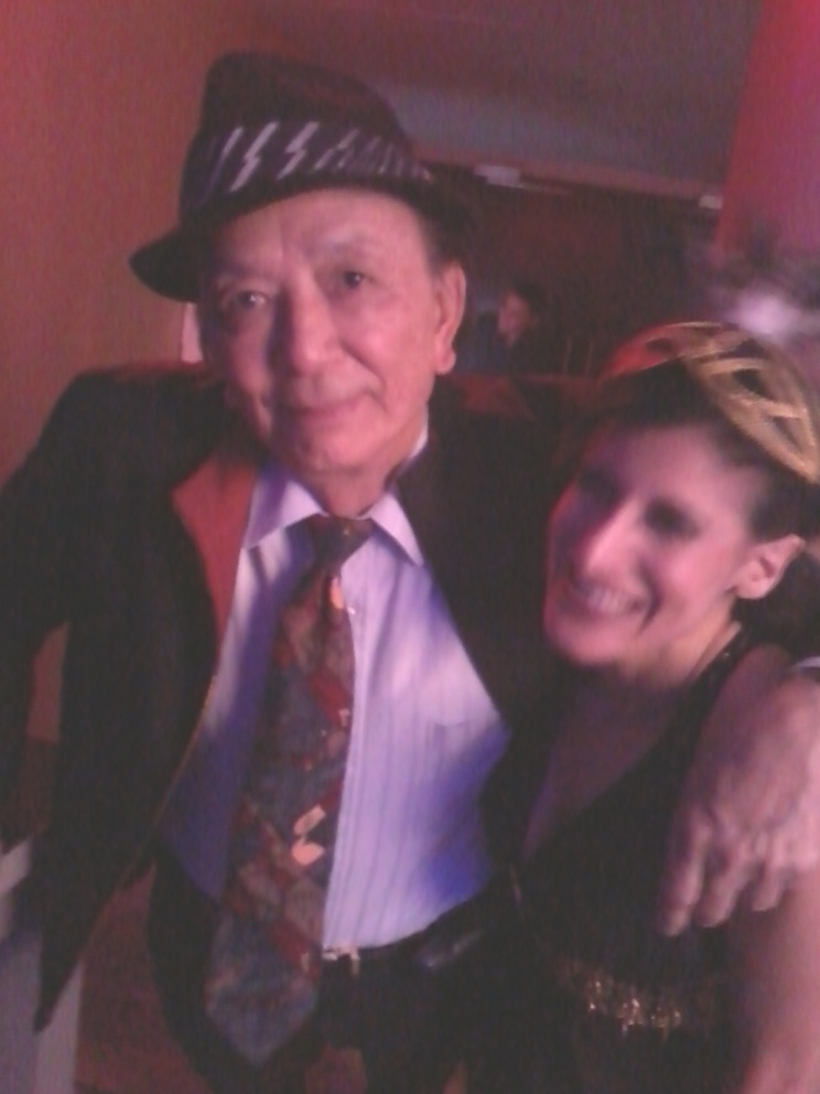 Lynn Julian, Boston Actress, with actor, James Hong. (Big Trouble in Little China, Seinfeld)