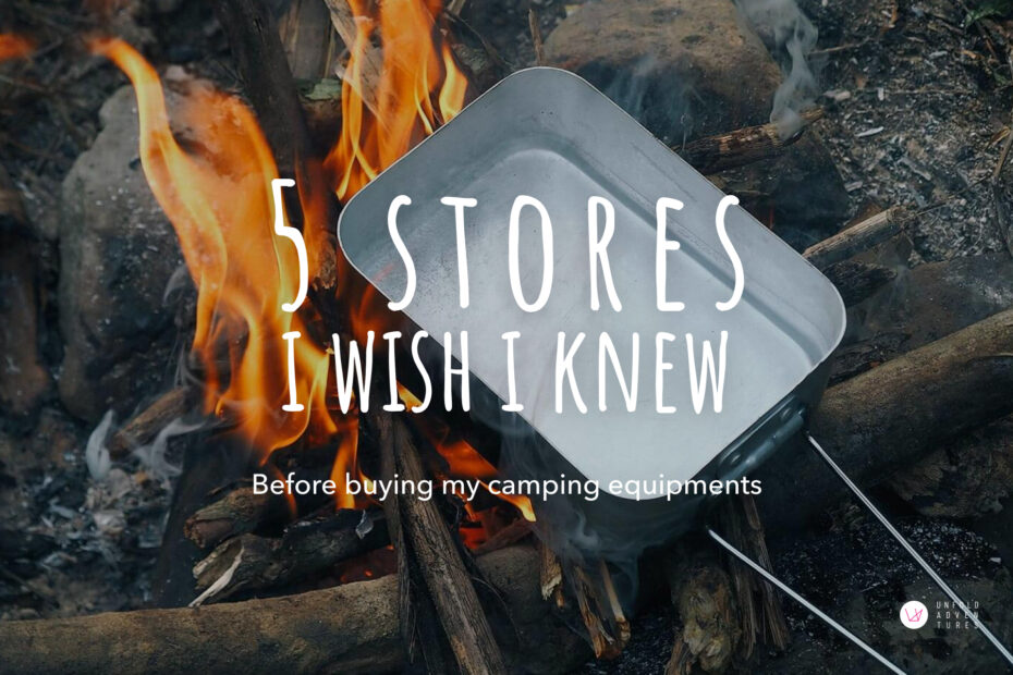 5 stores i wish i knew before buying my camping equipments