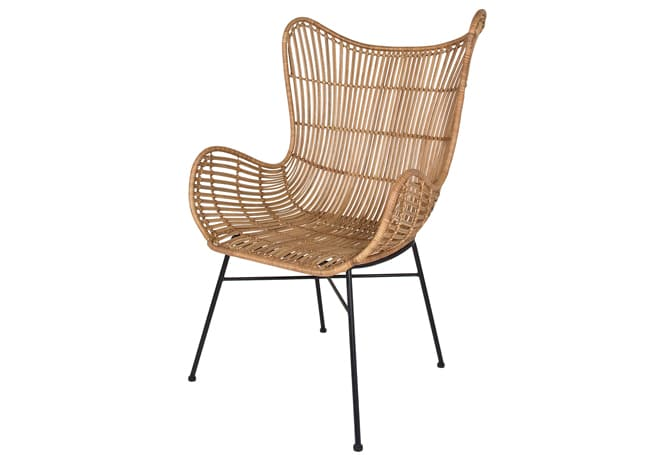 Butterfly Occasional Chair Natural