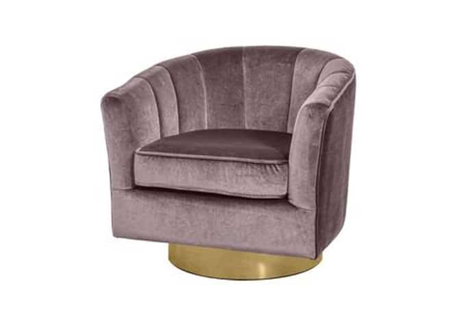 Occasional Chair Cassi Pewter Gold - Social Ingredients