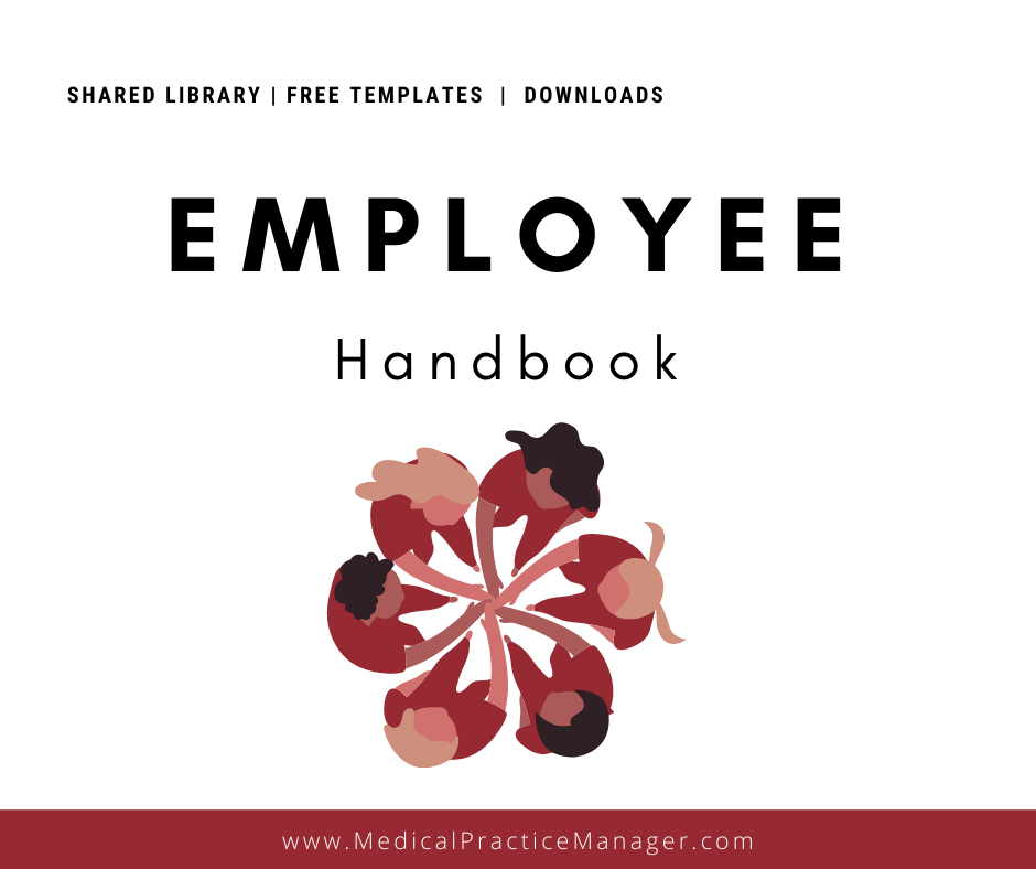 employee handbook for medical practices free template download