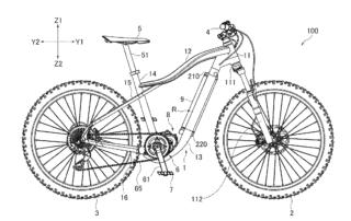 Yamaha's e-bike Frame Patent