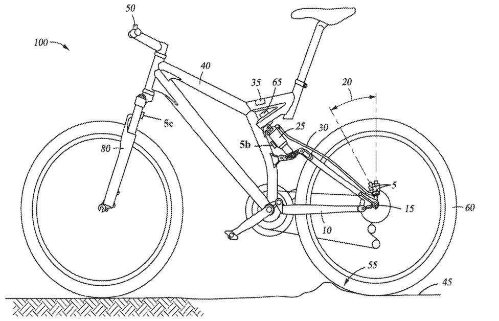 Fox Racing Patents: Crank Sensor & Live Valve