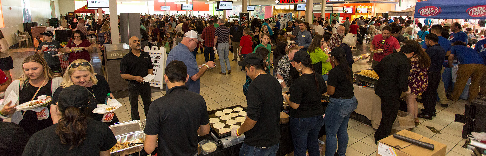 The Taste of North Texas Food and Drink Event - Golden Triangle Mall