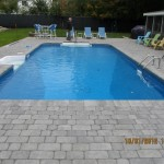 16'32' Rectangle pool with buddy seat