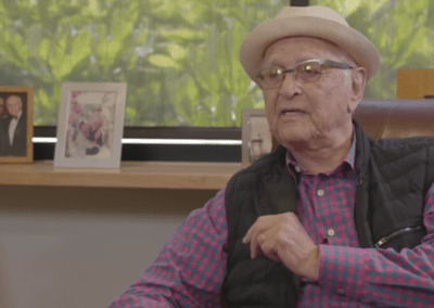 Norman Lear interviewed for The Young Turk Network
