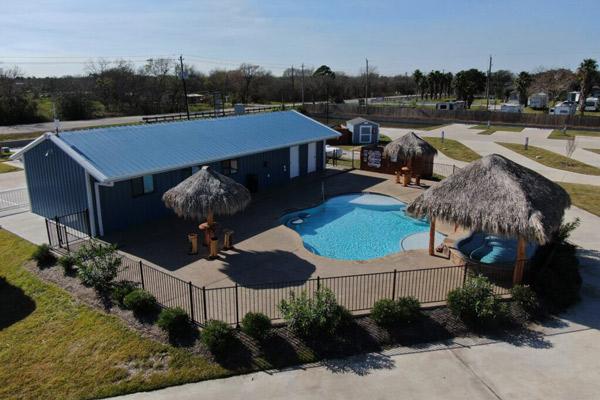 Palapas, Gazebos, Texas Resort, Kemah