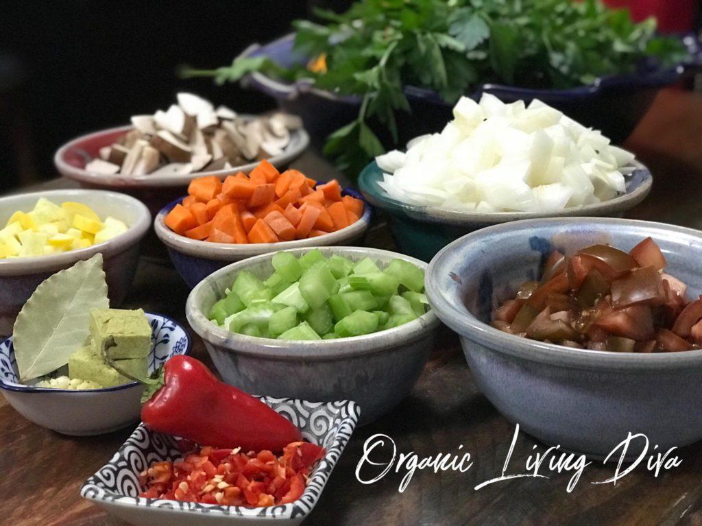 Organic Living Diva Tomato Vegetable Vegetable Quinoa Soup