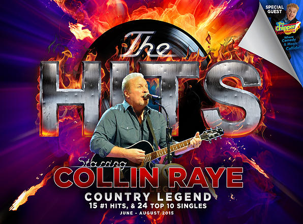 Collin Raye to Star in Branson's New 'Hits Show'