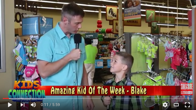FEATURE: Amazing Kid Of The Week – Blake