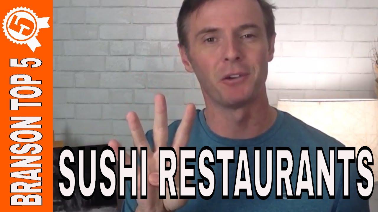 NEW BRANSON VIDEO: Top Sushi Restaurants in Branson Missouri
