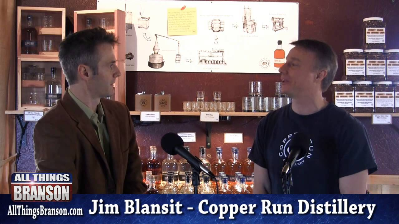 Copper Run Distillery: Turning Moonshine into Whiskey PART 2/5