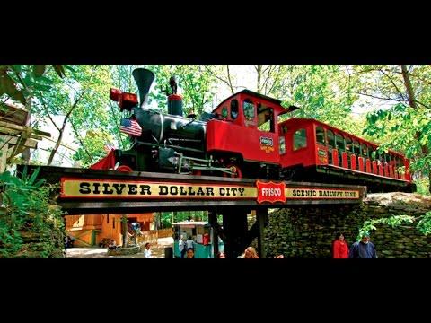2015 Silver Dollar City Train Ride & Robbery Branson Missouri FULL HD