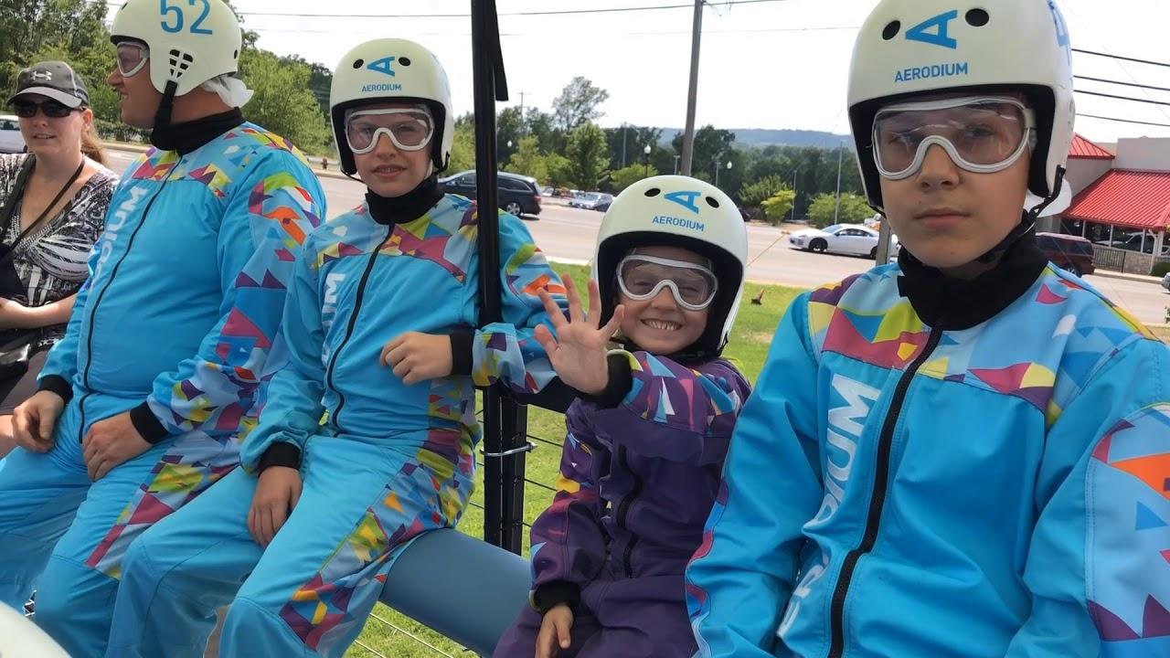 Aerodium at Fritz's Adventure in Branson Missouri on Kids Connection