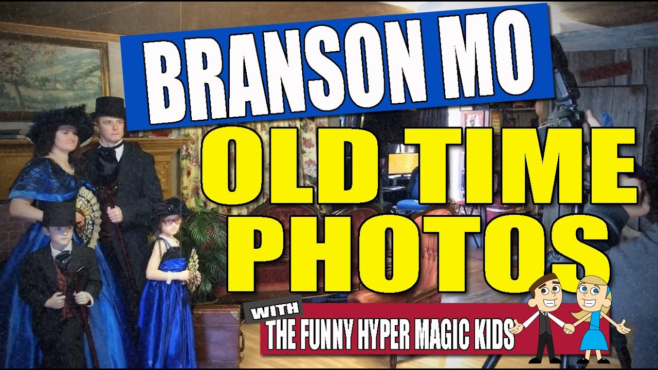 Featured Video: TNT Old Time Photos on The Explorer's Club Branson Missouri