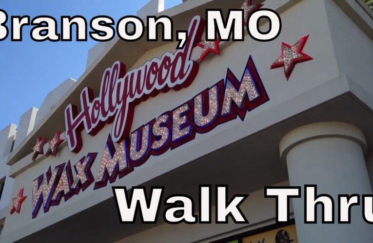 Hollywood Wax Museum Branson Missouri Walkthru