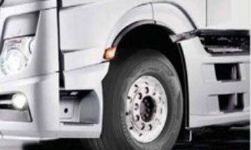 هنكوك توفر معدات أصلية لشاحنات مرسيدس الجديدة (اكتروس) عام – 2016