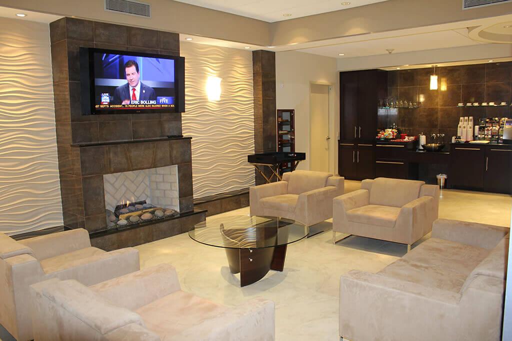 Lounge at Republic Jet Center