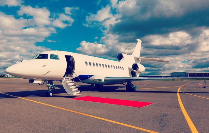 Republic Jet Center Private Plane