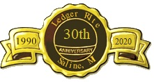 Ledger Rite celebrates 30 years in business - ribbon