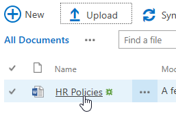 Upload Documents in SharePoint - File has been uploaded