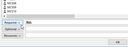 Scheduling an Event in Outlook - Invitation Type