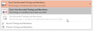 Turn a PowerPoint Presentation into a Video - Time and Notations