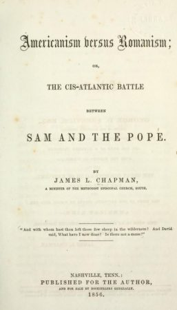 Sam and the pope