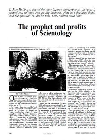 """CIA,Hubbard, Lafayette Ronald,Psychiatry,Reincarnation,Scientology Cosmology,Dianetics,Greece,Science Fiction"""