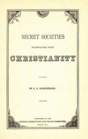 Antichrist 2,Buddhism 1,Cannibalism,Freemasonry 1,Jesus of Nazareth 1,Moses 1,Paganism 1,Secret societies 1