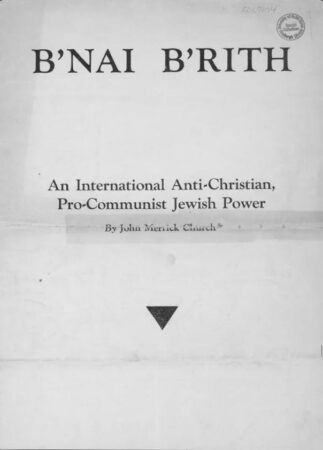 Antichrist,Antisemitism,Armageddon,B'nai Brith,Babylon 2,Bavaria,Christmas 2,CIA,Communism 2,Cults 3,Democratic Party,Easter,Egypt 3,Fascism,Federal Reserve,Freeman,Freud, Sigmund,Hitler, Adolf 2,Hollywood (Holy Wood),Judaism 2,Lenin,Lincoln, Abraham ,Luther 2,Marx, Karl (Marxism) 2,Moses 2,Nazism 2,Occultism 2,Propaganda 2,Prophecy 2,Protocols of the Learned elders of Zion,Rothschild Family,Russel, Bertrand ,Socialism 2,Stalin, Josepf,Talmud,The Round Table,Zionism